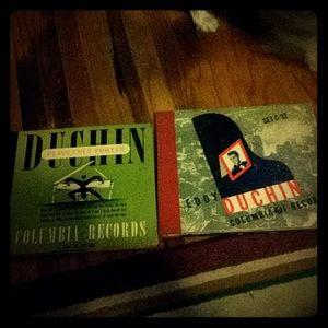 EDDY DUCHIN 2 COMPLETE RECORD SETS